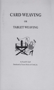 Card Weaving or Tablet Weaving | Books