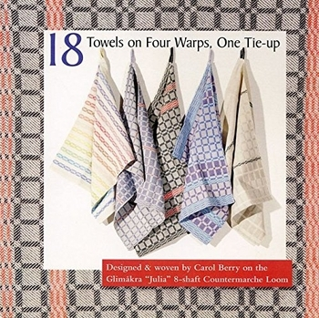 18 Towels On Four Warps, One Tie-up | Books