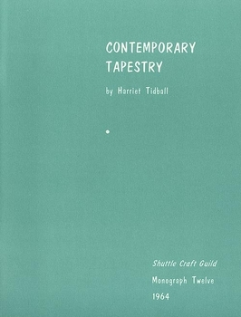 Contemporary Tapestry-Shuttle Craft Monograph 12 | Books