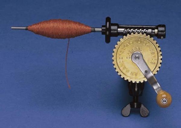 Spolmaskin Swedish Bobbin Winder-Thick Spindle | Bobbin Winders and Swifts