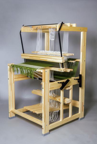 Julia Countermarche Loom   Julia Floor Loom