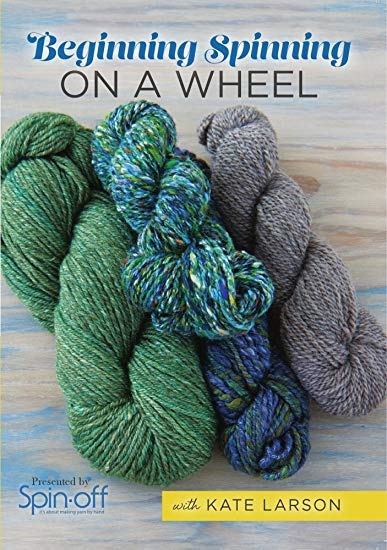 Beginning Spinning: On a Wheel   DVDs