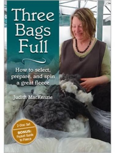 Three Bags Full: How to Select, Prepare, and Spin Great Fleece | DVDs