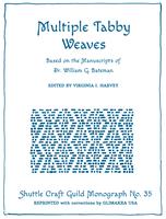 Image Multiple Tabby Weaves-Shuttle Craft Monograph 35