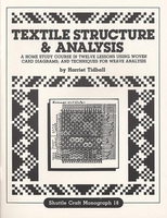 Image Textile Structure & Analysis-Shuttle Craft Monograph 18
