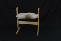 Image Reindeer Hide Bench Cover - Small