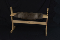 Image Reindeer Hide Bench Cover - Large