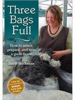 Image Three Bags Full: How to Select, Prepare, and Spin Great Fleece