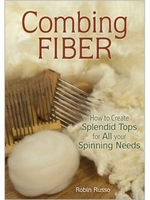 Image Combing Fiber: How to Create Splendid Tops for All your Spinning Needs
